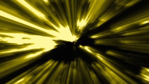 Yellow Rays of Light Motion Background