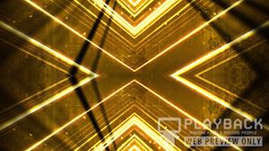 Yellow Vortex Still Background