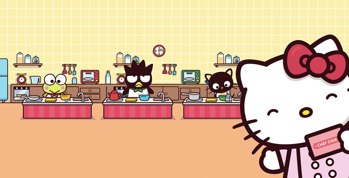 hello kitty chef star