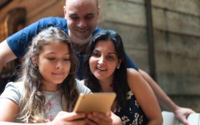 O papel da família na vida digital das crianças