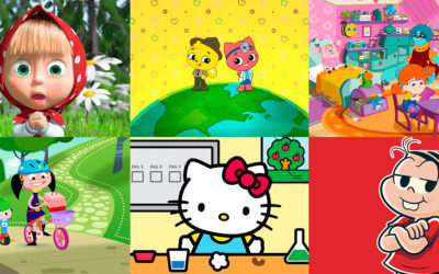 10 personagens femininas que mandam ver no PlayKids App
