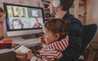 Home office com crianças: como equilibrar?