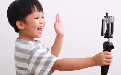A segurança das crianças em novos aplicativos de vídeo