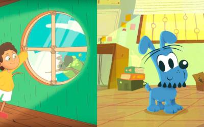 5 animais de desenhos que são companhia para crianças