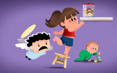 A pandemia e os acidentes domésticos com crianças