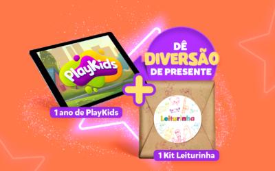 Sorteio PlayKids: dê diversão de presente