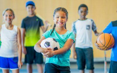 O benefício dos esportes para crianças