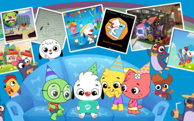 Comemorando oito anos do PlayKids!