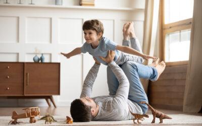 Conecte-se com o mundo da criança: brinque!