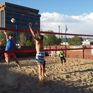Session 5 '18 - Friday Sand Coed 2's Volleyball League at EP