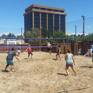 Session 5 '18 - Wednesday Sand Coed 4's Volleyball League at EP