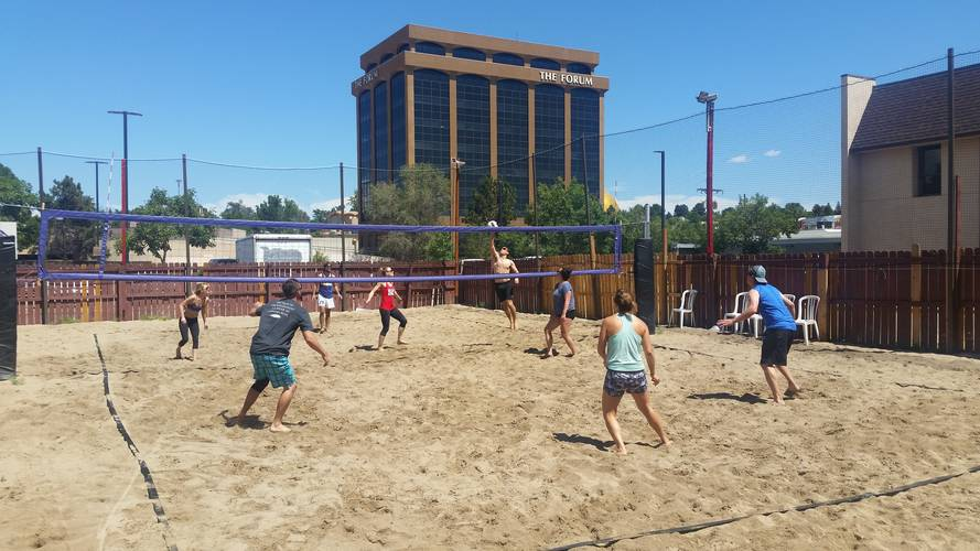 Session 5 '18 - Thursday Sand Coed 4's Volleyball League at EP