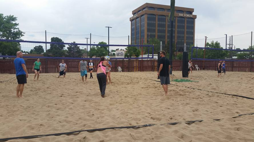 Session 5 '18 - Tuesday Sand Coed 6's Volleyball League at EP
