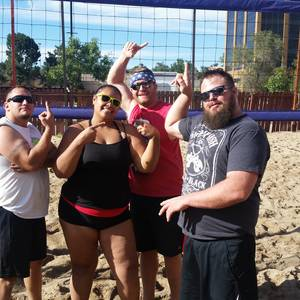 Session 5 '18 - Friday Sand Coed 6's Volleyball League at EP
