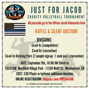 Just for Jacob Charity Volleyball Tournament