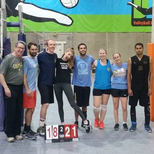 Session 6 '18 - Denver Tuesday Advanced Volleyball Coed 6's