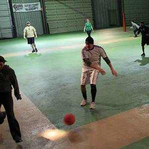 Session 6 '18 - Friday Indoor Coed Kickball League