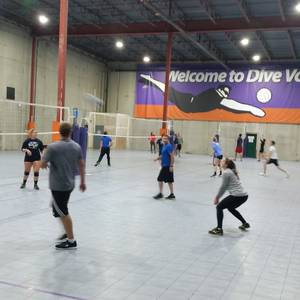 12/22 Indoor Tournament - Coed Rotating Pairs Volleyball