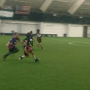 Indoor Flag Football Camp