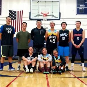 Sunday Night Coed Winter Basketball League