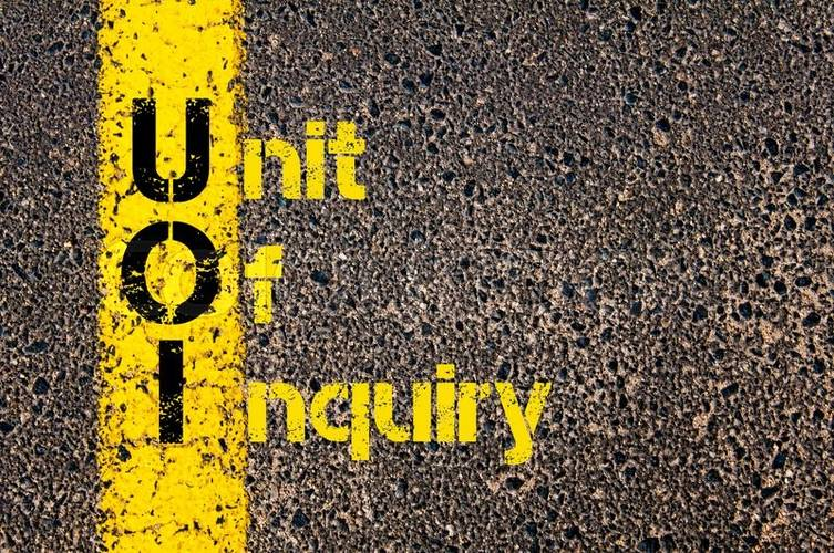 Online! The Unit of Inquiry