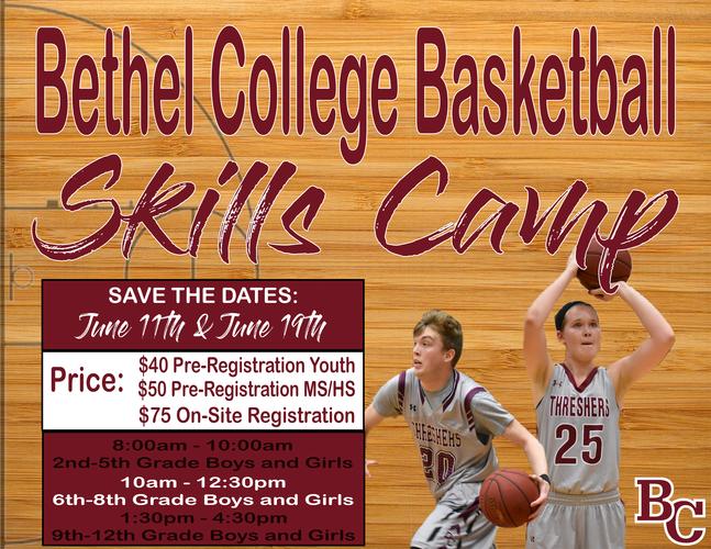 2019 Bethel College Basketball Skills Clinic - June 11th