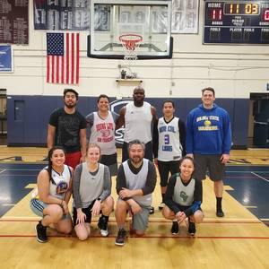 Sunday Night Coed Basketball League
