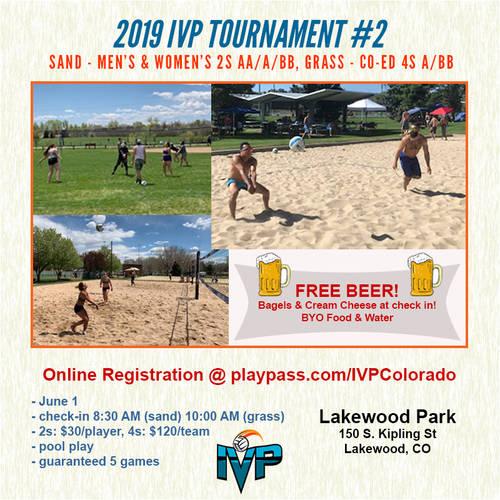 2019 IVP Volleyball Tournament #2