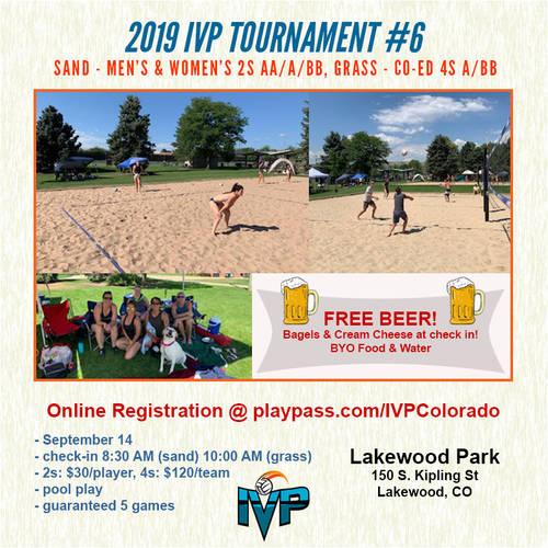 2019 IVP Volleyball Tournament #6
