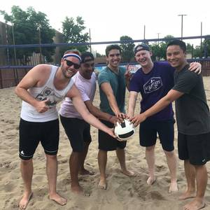 Session 4 '19 - Monaco Park Wednesday Inter/Advanced Volleyball Mens 4's