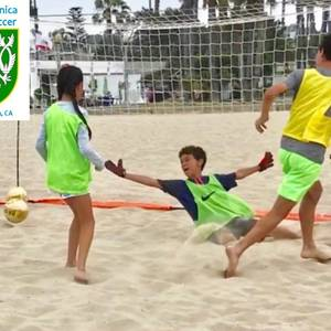 Summer Beach Soccer Camp - Week 8