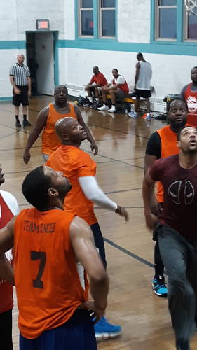 35 and Over Basketball League Registration
