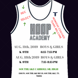 THE HOOP Fall Basketball Tryouts