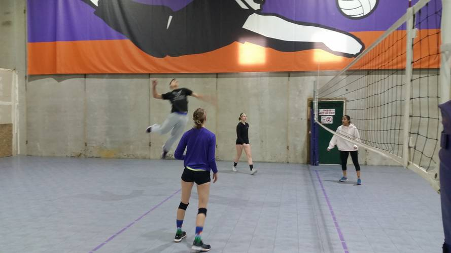 12/26 Indoor Tournament - Coed Rotating Pairs Volleyball