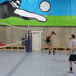 11/29 Indoor Tournament - Coed Rotating Pairs Volleyball