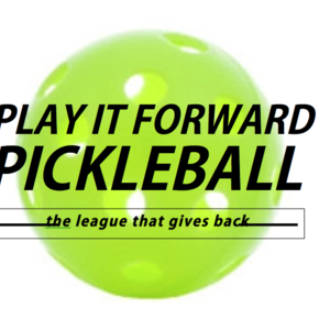 Play It Forward Pickleball League/Registration