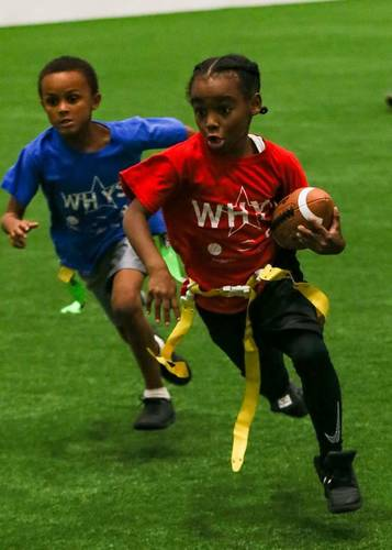 Competitive Youth Flag Football League