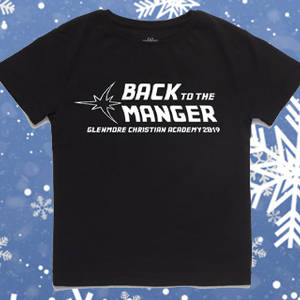 Back to the Manger T-shirt Sales