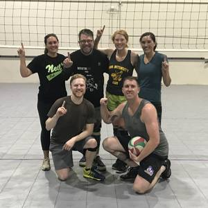 Holiday League '19 - Denver Wednesday Intermediate Volleyball Coed 6's