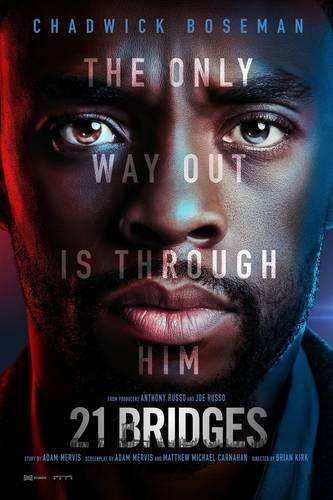 11/20 - FREE Advance Movie Screening - 21 Bridges