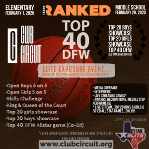 Top 40 DFW Elite Exposure Event - Elementary