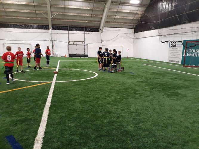 Indoor Flag Football Skill Training/Games 2020
