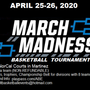 March Madness Basketball Tournament 2020