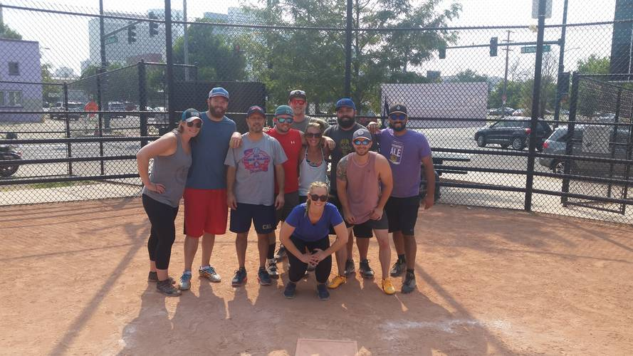 Session 2 '20 - Sundays Downtown Denver Coed Recreational Softball
