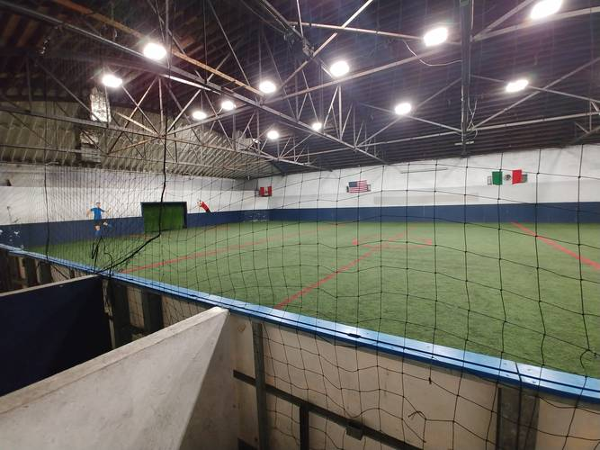 Session 2 '20 - Aurora Tuesday Night Soccer Coed 6's Indoor Soccer