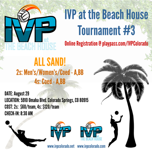 2020 IVP at the Beach House Tournament #3 - ALL SAND