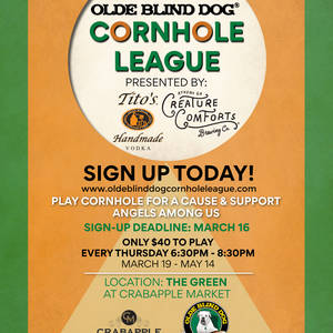 Cornhole is Back!! 6/18-8/6