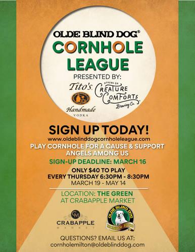 Cornhole is Back!! 6/18-8/6