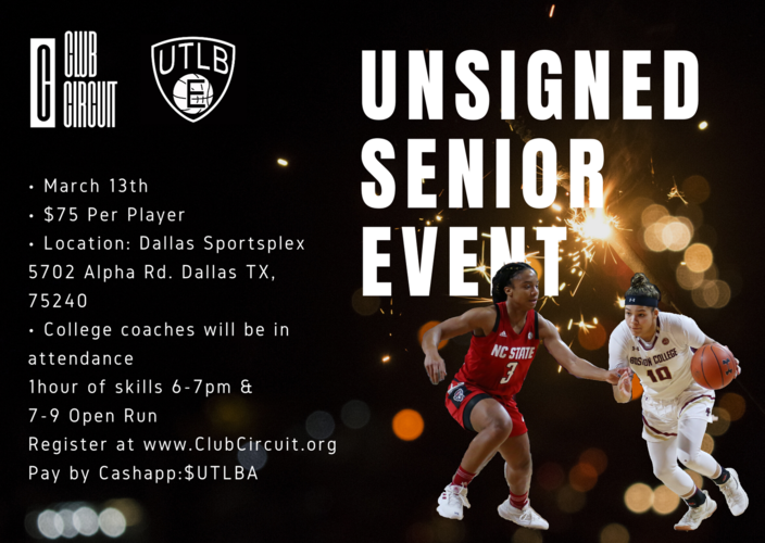 Unsigned Senior Event
