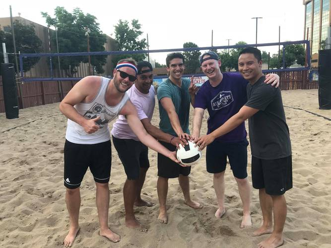 Session 3 '20 - Monaco Park Tuesday Interm/Advanced Volleyball Coed 4's